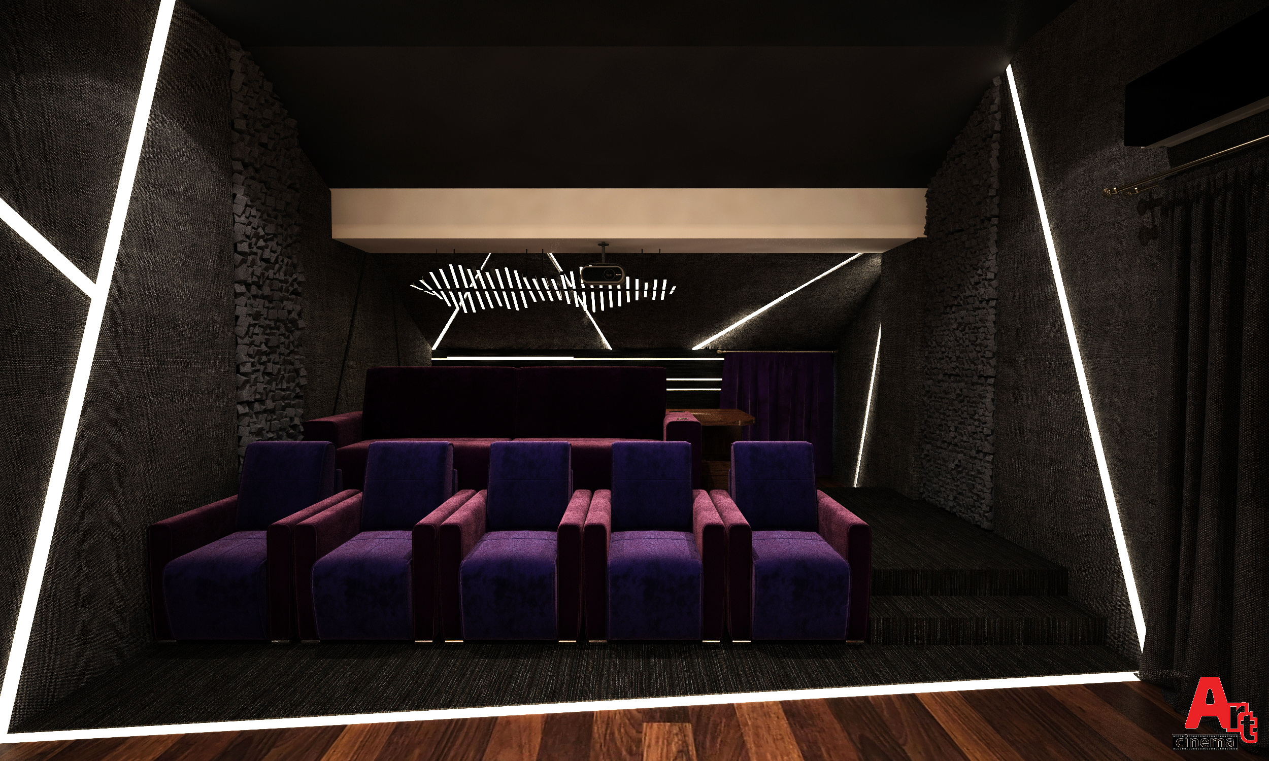 Проект частного кинотеатра
