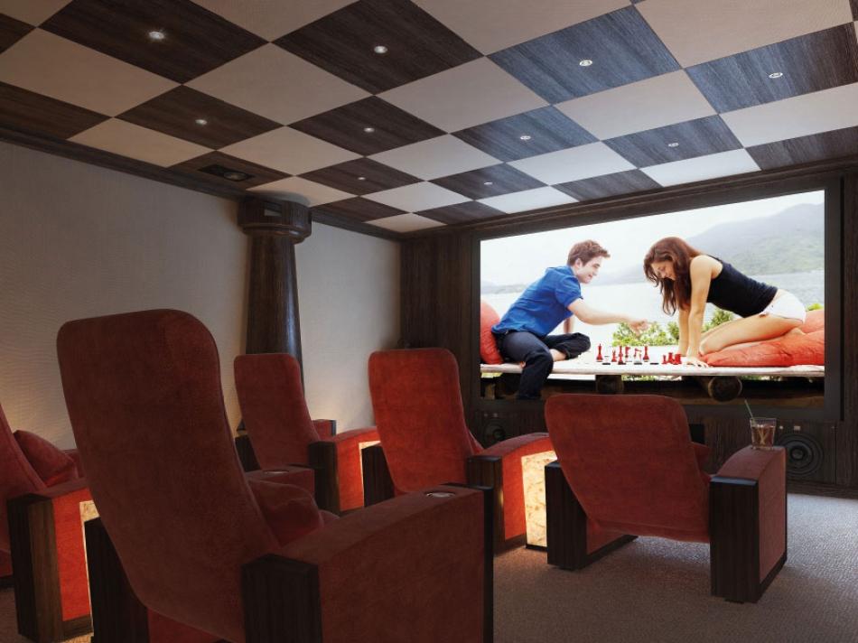 Как развлечься кинозал в дом