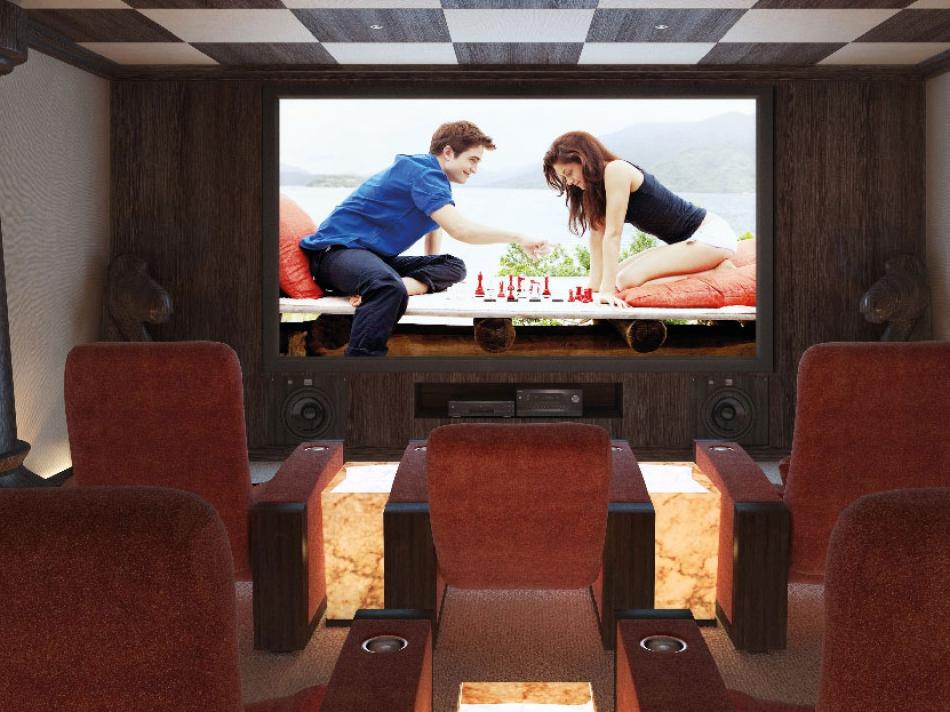 Как развлечься кинотеатр в дом