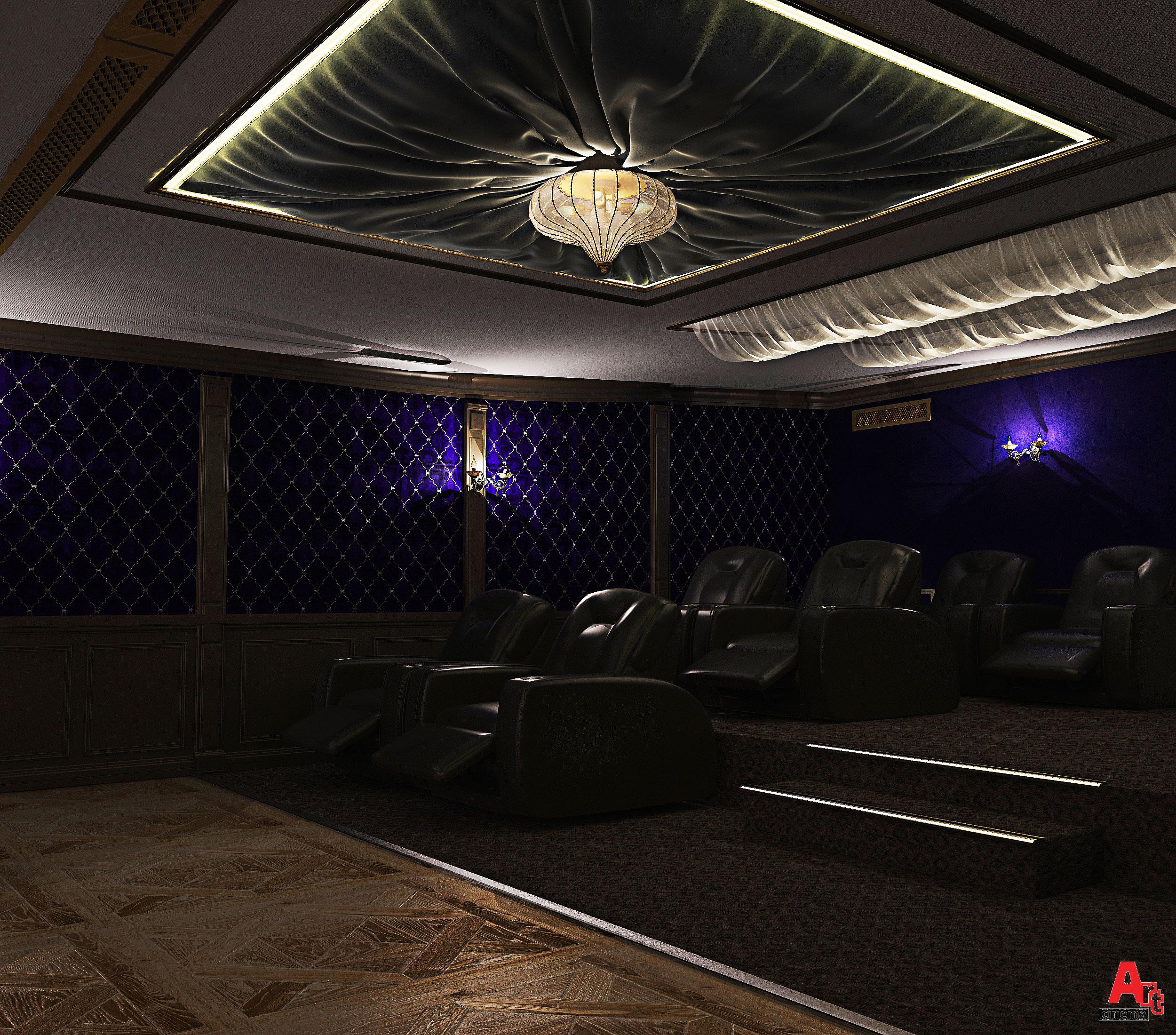 Небольшой кинотеатр для бизнеса