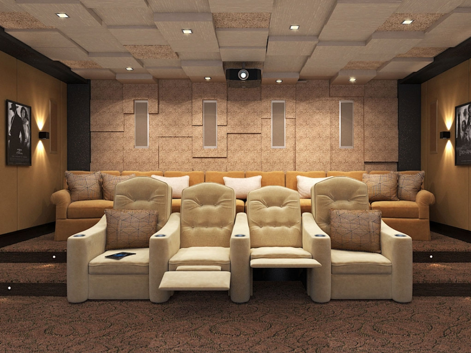 Где заказать домашний кинозал в дом