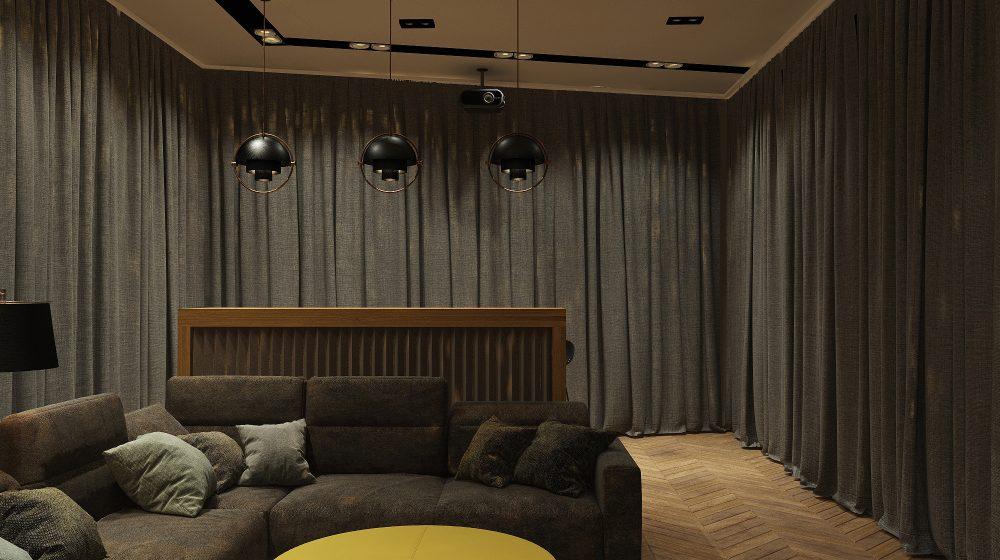 Домашний кинозал - проект Уют